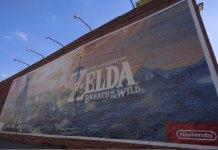 Brooklyn se engalana con un mural The Legend of Zelda Breath of the Wild