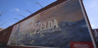 Brooklyn se engalana con un mural The Legend of Zelda Breath of the Wild