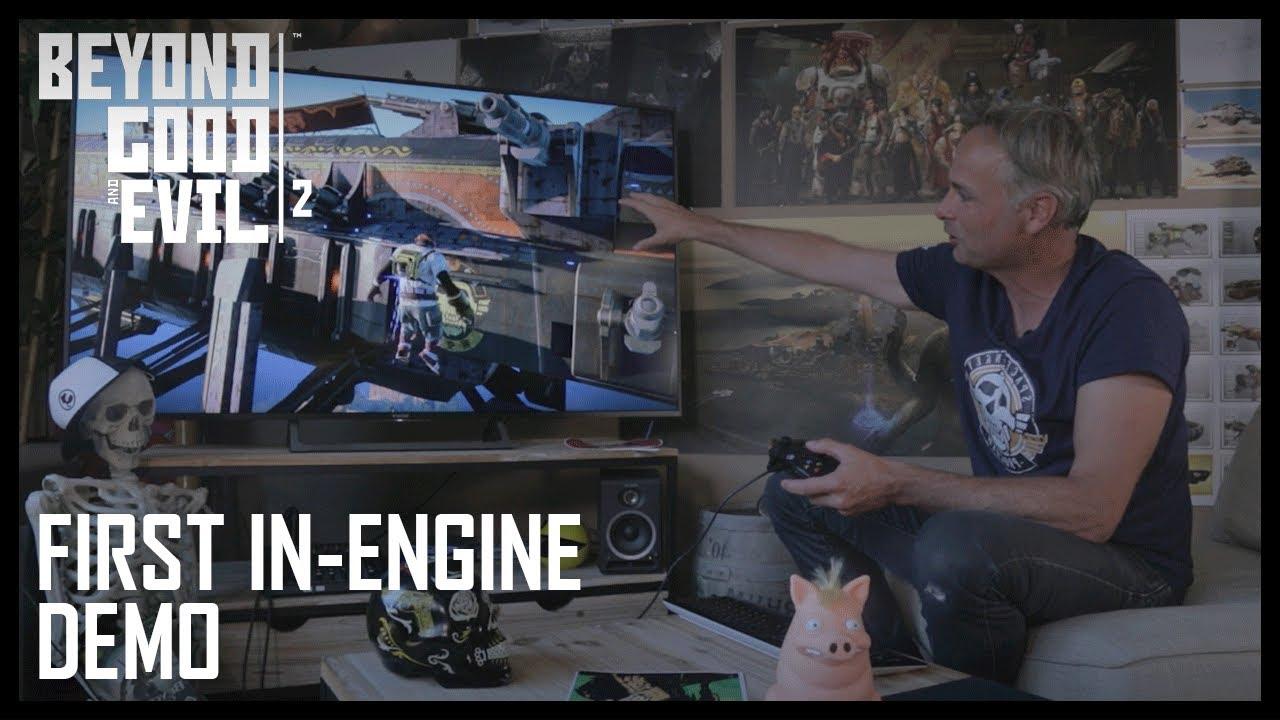 Michel Ancel presenta la Demo de Beyond Good and Evil 2 - E3 2017
