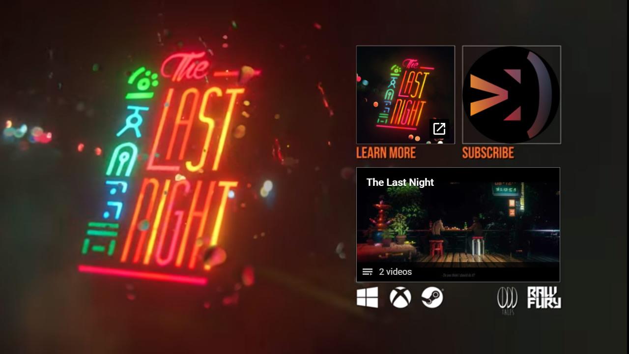 The Last Night fue la sorpresa indie en la conferencia de Microsoft