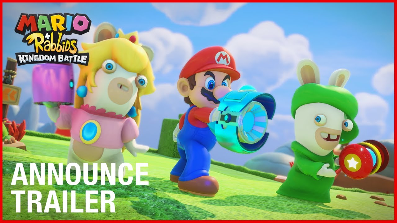Ubisoft presenta Mario Rabbids Kingdom Battle en E3 2017