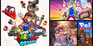 Lanzamientos de la semana para la marca Nintendo 23-10-17 al 29-10-17