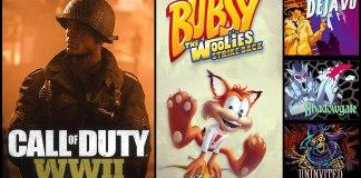 Lanzamientos de videojuegos de la semana del 30 octubre al 05 de noviembre