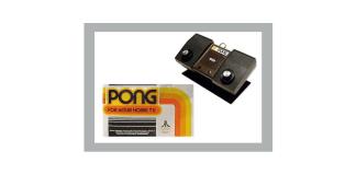 Atari Pong casero