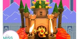 Como preparar un queque del Castillo de Bowser