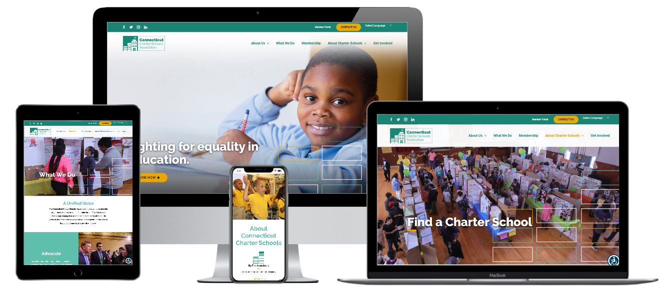 Capital District Digital Web Design - Connecticut Charter Schools Association
