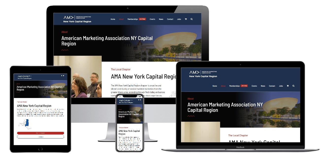 American Marketing Association Web Design Albany NY