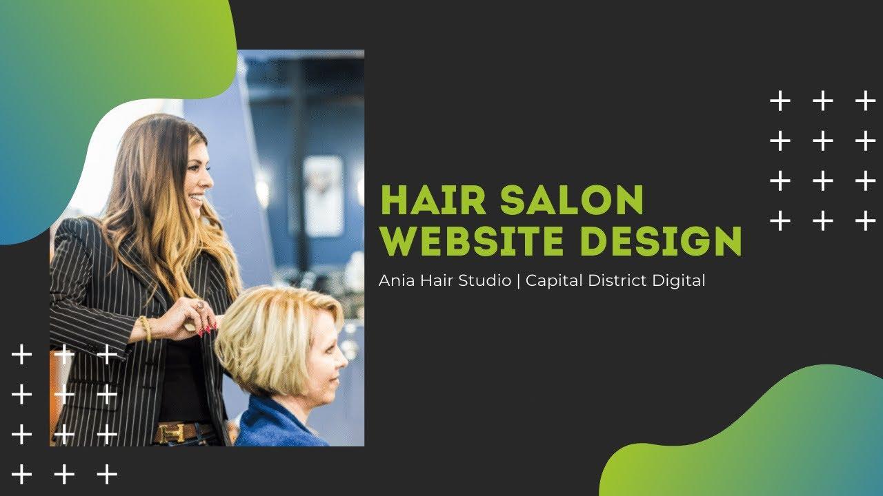 Hair Salon Website Design Albany NY