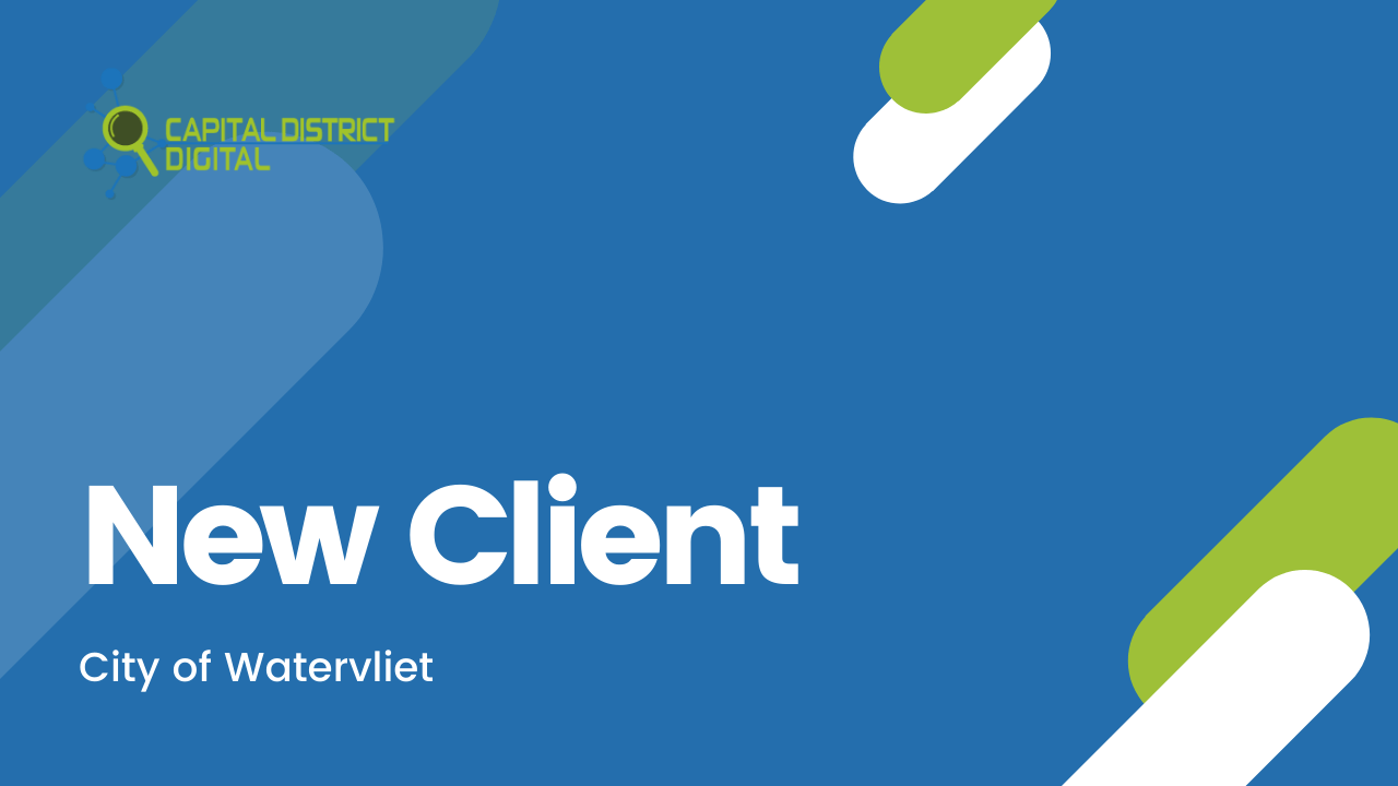 City of Watervliet New Client