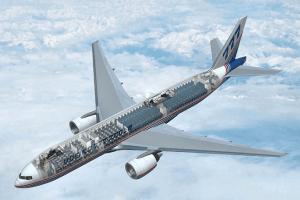 Boeing 777: su impresionante proceso de pintado en dos minutos