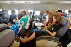 ¿Quiénes son los pasajeros más desagradables en un avión?