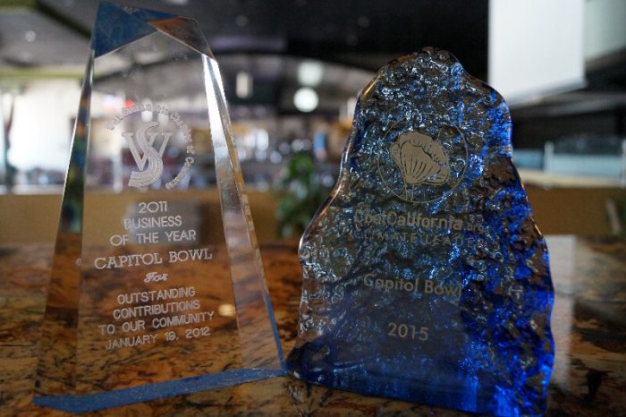 Capitol Bowl Award