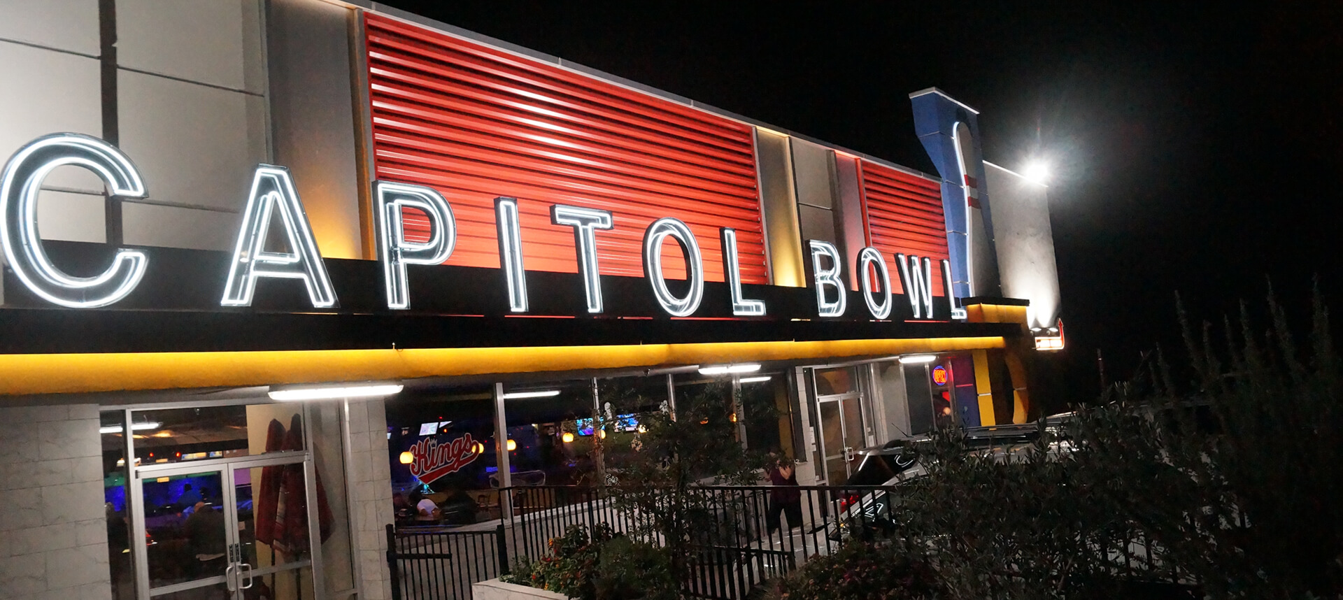 Modern Bowling Alley, Delicious Food and Fresh Drinks…