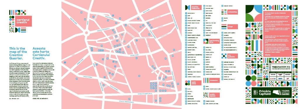 harta cartierul creativ the institute
