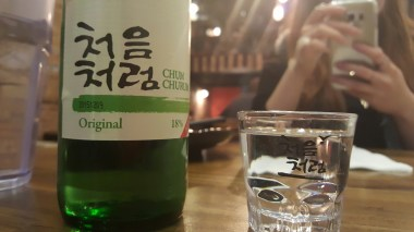 Chum Churum is a Korean Vodka-like liquor called Soju