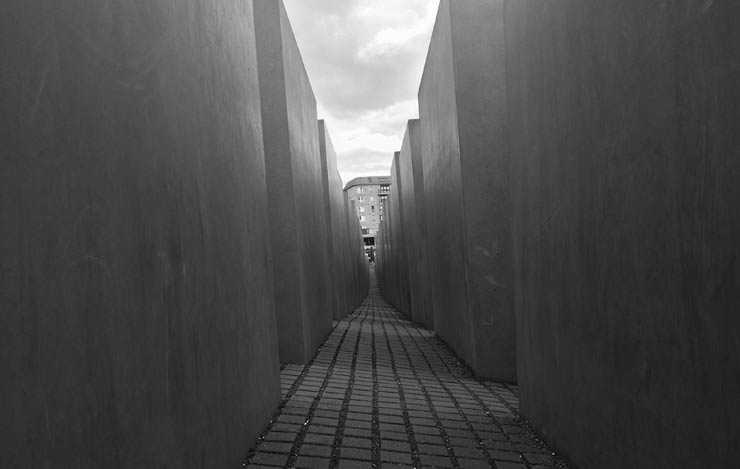 Il Memoriale dell'Olocausto di Berlino