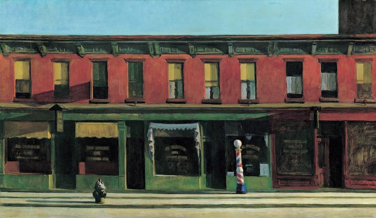 Ombre: i quadri di Hopper in letteratura