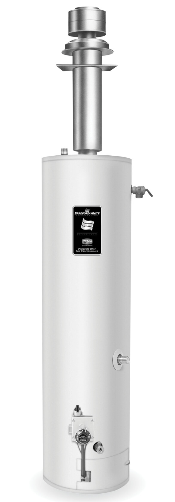 Sealed Combustion Water Heater : sealed, combustion, water, heater, BRADFORD, WHITE, Sealed, Combustion, Water, Heaters, (Direct, Vent)