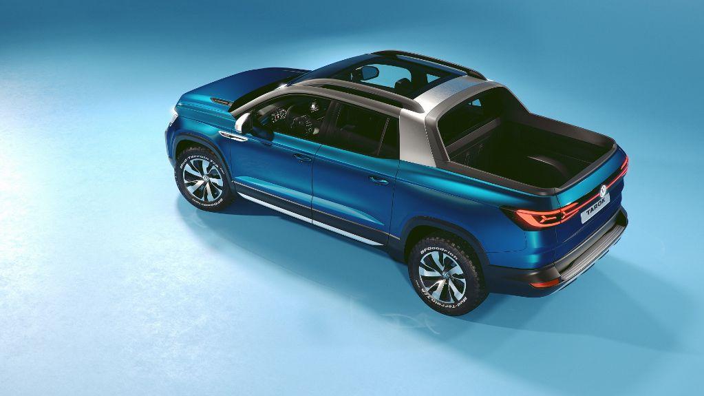 Volkswagen mostra picape Tarok Concept no Salão de Frankfurt