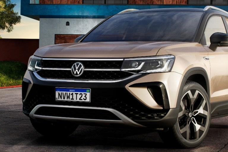 Volkswagen Taos é apresentado pela primeira vez no Brasil