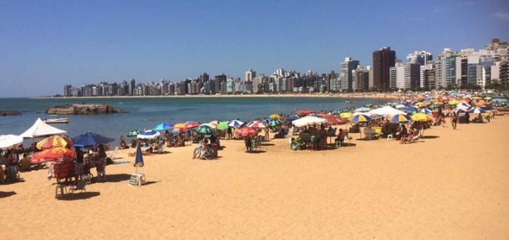 praia da costa, vila velha