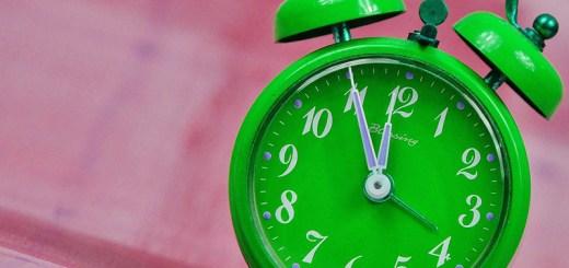hora de mudança para o ano novo