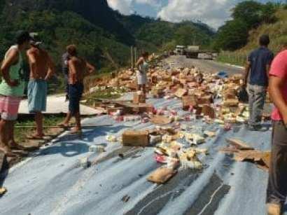 Motorista pula de caminhão e escapa da morte em Soturno