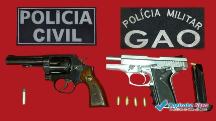 Polícias Civil e Militar realizam operação em Cachoeiro