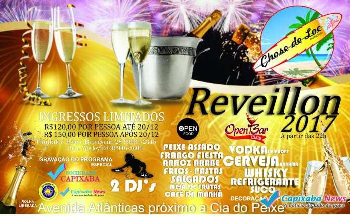 O Bar Chose de Loc prepara uma grande festa de Réveillon em Marataízes