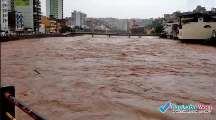 Prefeito de Cachoeiro de Itapemirim alerta para possibilidade de enchente histórica