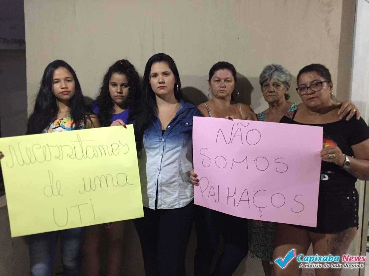 Família de Pollyana organiza protesto contra falta de UTI no Litoral Sul