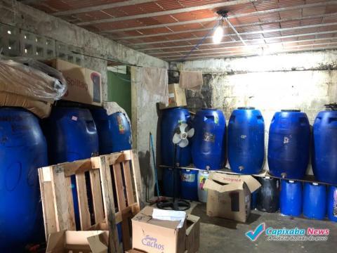 Galpão com Seis toneladas de cosméticos é fechado em Cariacica