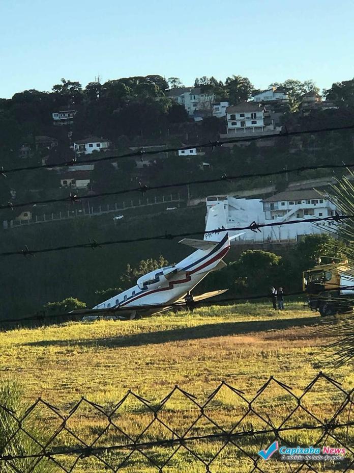 Avião do DJ Alok sai da pista ao tentar decolar em Minas Gerais