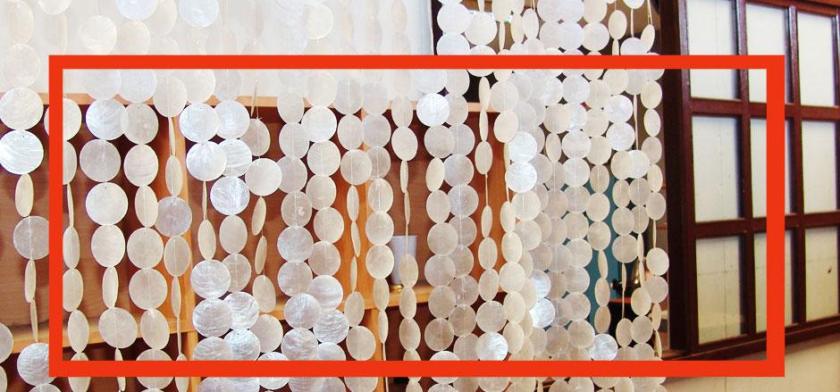 Capiz Shell Window Curtain Capiz Decorative Curtains Capiz Curtain