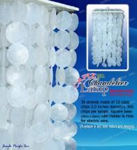 Capiz Chandelier | Capiz Windows and Doors | Capiz Products