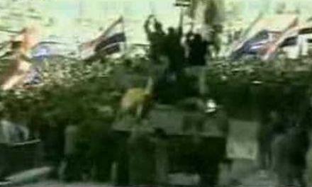 Prosvjed Splićana protiv srpskog tlačenja Kijeva 06.05.1991