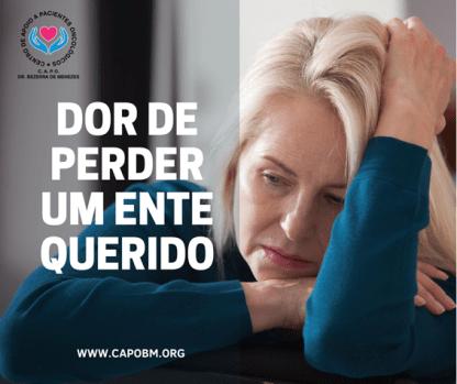 Dor da Perda de Um Ente Querido - Capo Bezerra de Menezes