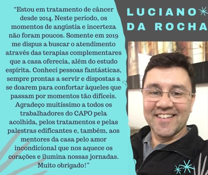 Depoimento - Luciano da Rocha