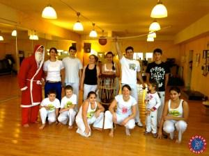 Capoeira und der Nikolaus