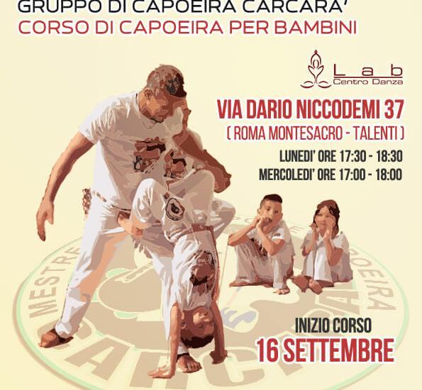 Capoeira per bambini a Roma Montesacro