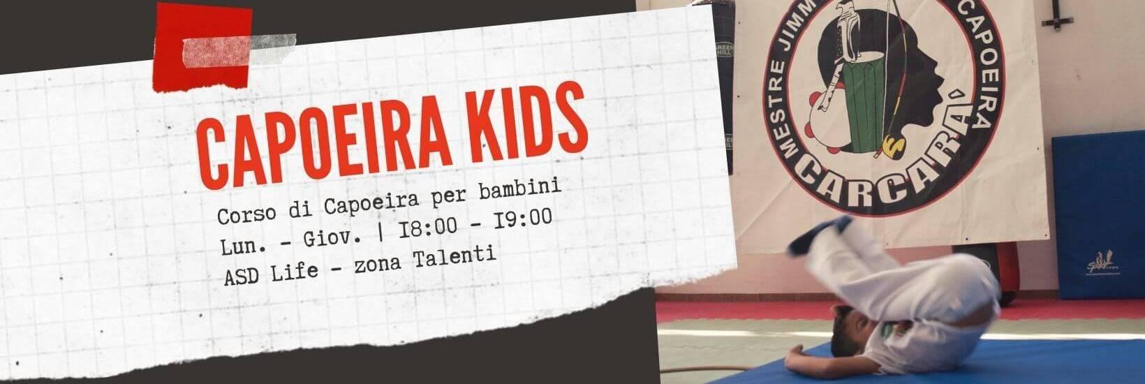 Corso di Capoeira per bambini a Roma Talenti