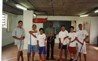 Batizado de capoeira, no Crusp-USP, 2008.