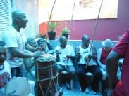 Festa de confraternização, com a presença de importantes mestres da capoeira. 2013.