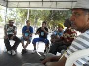 Mestres da tradição griô - roda de conversa.