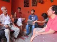 Valter Luz é quem elabora as ATAS de Reunião do CEACA.