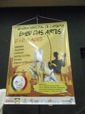Cartaz do evento - Embu das Artes.