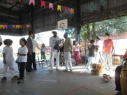 Preparativos Samba de roda, Alcides e Paulinho.