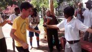 Mestre Durval cantando coco