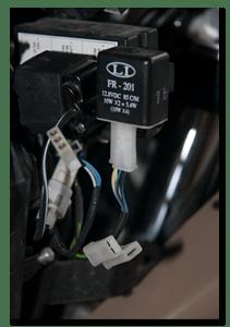 Aprilia Caponord ETV1000 Rally-Raid indicator relay