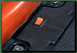 Aprilia Caponord ETV1000 Rally-Raid - 'Service Mode' switch
